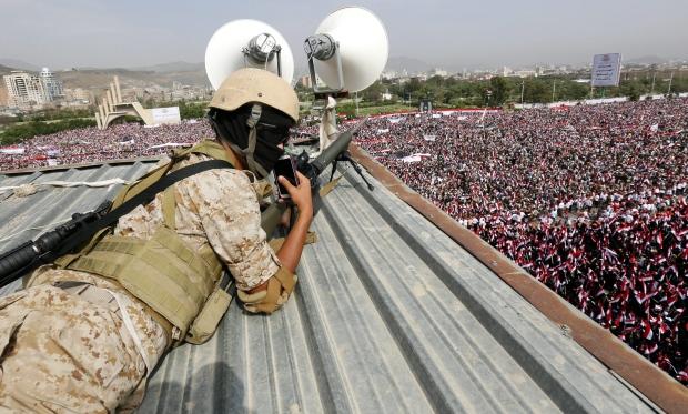 Claimed Bombing Against Yemen Recruits Kills 60