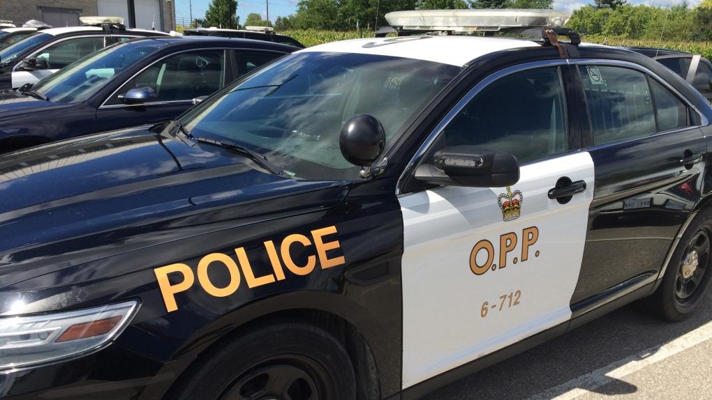 Ontario Provincial Police cruiser