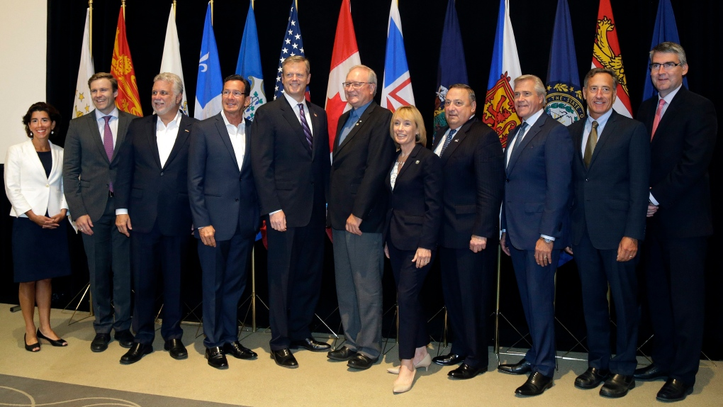 Governors and premiers in Boston