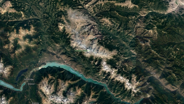 Shulaps mountain range