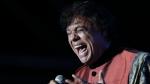 """Mexican singer Juan Gabriel, """"el Divo de Juarez"""", launches his tour """"Celebrating 2014"""" with a concert in Lima, on August 14, 2014 (LUKA CONZALEZ / AFP)"""