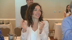 PQ MNA Martine Ouellet is being touted as a possible candidate to assume the leadership of the Bloc Quebecois.