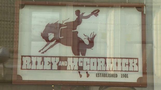 ff1d4de9818 Calgary western wear shop Riley & McCormick closes after 115 years ...