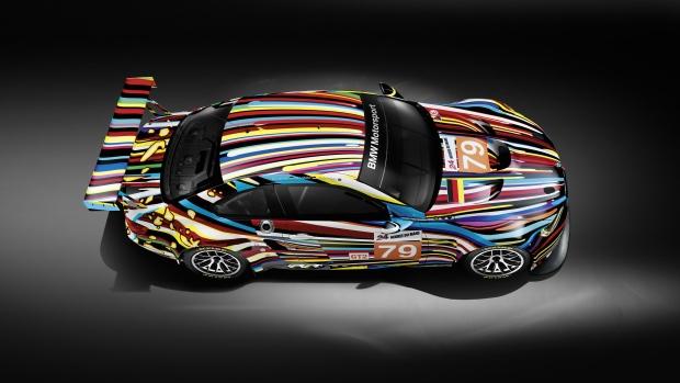 The Jeff Koons' BMW Art Car