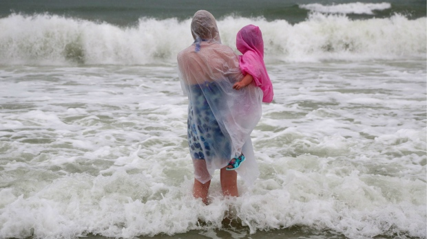 Gulf Coast residents hunker down for Tropical Storm Hermine
