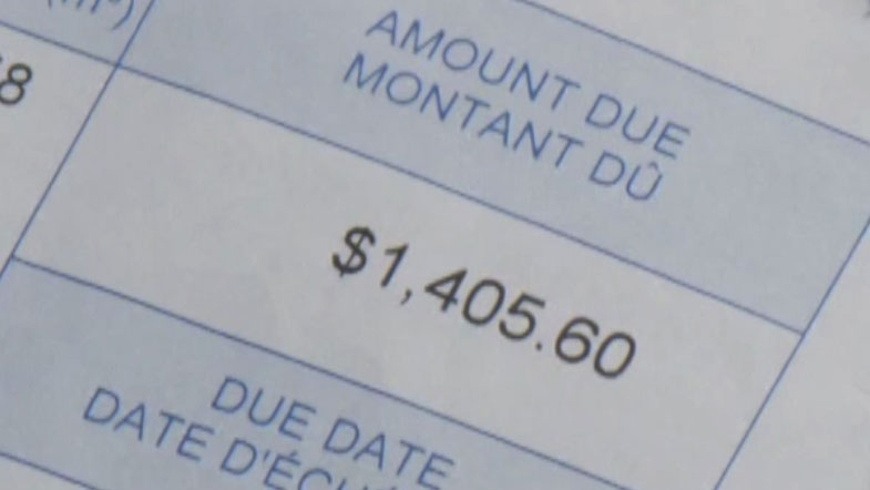 Emily Hashem was shocked to receive a $1,400 city water bill for only three months of water consumption.