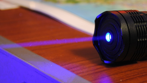 A laser pointer is shown in this file photo. (Adam / Flickr)