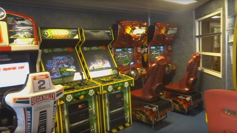 video game arcade