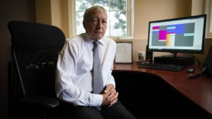 Dr. Brian Day, Medical Director of the Cambie Surgery Centre, sits for a photograph at his office in Vancouver on Wednesday, Aug. 31, 2016. (Darryl Dyck / THE CANADIAN PRESS)