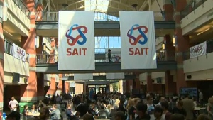 The president and CEO of SAIT says 230 jobs at the school will be cut as a result of budget cuts. (File)