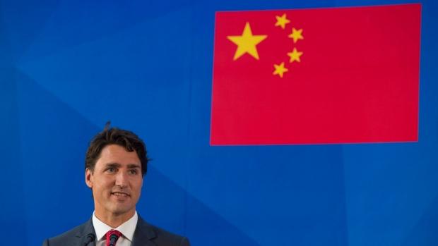 Trudeau flag