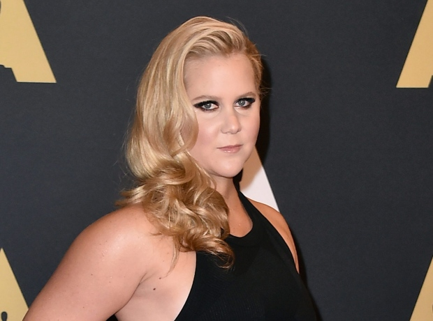 Amy Schumer arrives at the Governors Awards in Los Angeles on Nov. 14, 2015. (Invision / Jordan Strauss)