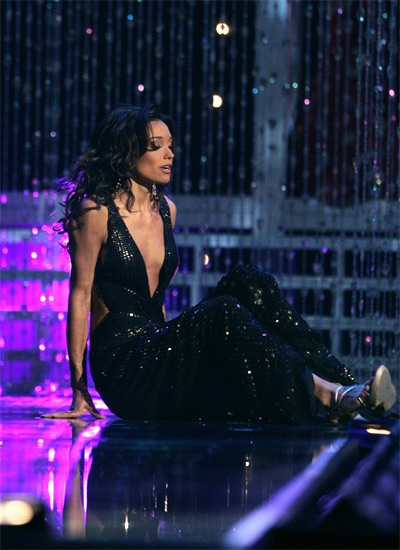 Miss USA falls during evening gown competition | CTV News