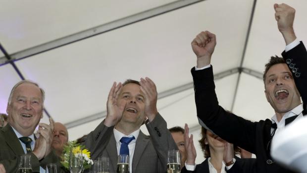 Exit polls: German nationalists strong, Merkel party weak