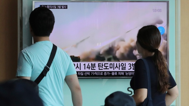 South Korea hosts arms show after N. Korea missile tests