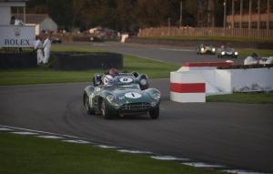 The 1959 Aston Martin DBR1 is shown. (AFP)