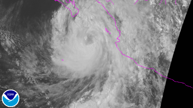 Hurricane Newton makes landfall in Mexico