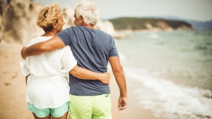 Older men who had sex once or more a week were much more likely to experience cardiovascular events five years later than men who were sexually inactive.(AleksandarNakic/Istock.com)