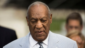 Bill Cosby arrives for a pretrial hearing in his sexual assault case at the Montgomery County Courthouse in Norristown, Pa., Tuesday, Sept. 6, 2016. (AP / Matt Rourke)