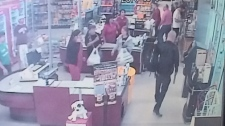 Grocery store robbery