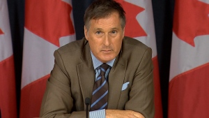 Conservative leadership candidate Maxime Bernier