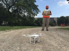 Enwin Utilities to use drones to assess and maintain electrical infrastructure in Windsor, Ont., on Wednesday, Sept. 7, 2016. (Sacha Long / CTV Windsor)