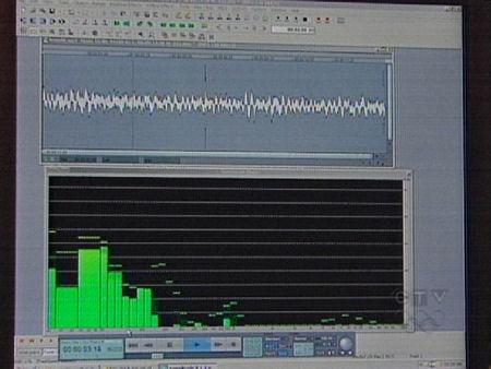 Soundwaves of mystery noise