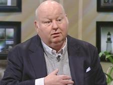 Sen. Mike Duffy speaks with CTV Atlantic in Halifax, N.S., on Friday, Feb. 6, 2009.