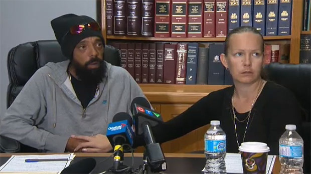 Craig Toulon Samantha Gyurian speak to the media about charges in connection to the death of the daughter.