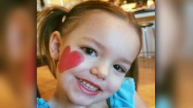 Avayah Toulon, 4, was killed in a pedestrian collision in May 2016 in the Bowness area.