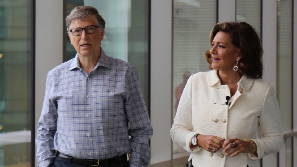 Microsoft founder and billionaire philanthropist Bill Gates speaks with CTV National News Chief Anchor and Senior Editor Lisa LaFlamme.