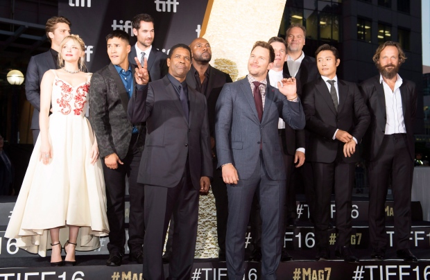 'The Magnificent Seven' cast say film's diversity was a ...