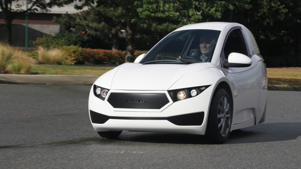 3 wheeled electric vehicle set to go on sale this year ctv news autos. Black Bedroom Furniture Sets. Home Design Ideas