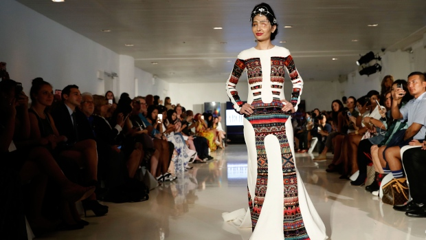 Acid Attack Survivor Reshma Qureshi Walks At New York Fashion Week