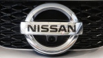 Nissan emblem at the Pittsburgh International Auto Show, on Feb. 11, 2016. (AP/ Gene J. Puskar)
