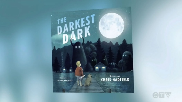The Darkest Dark is Chris Hadfield's third book and first children's book.
