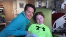 Jonathan Pitre and Tina Boileau in Minneapolis, Minn.