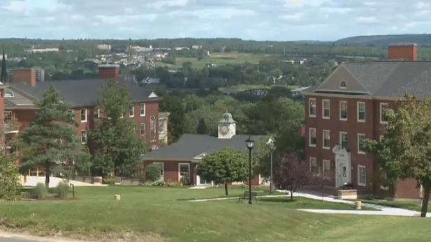 The University of New Brunswick is seen on Friday, Sept. 9, 2016.
