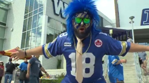 The Winnipeg Blue Bombers announced Wednesday morning that the rivalry game on Sept. 9 is now sold out. (File Image)