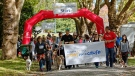 Hundreds gathered for the annual Paws for a Cause SPCA fundraising walk in Stanley Park on Saturday. (Photos by Steve McConnell/CTV Vancouver)