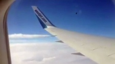 Westjet flight emergency landing