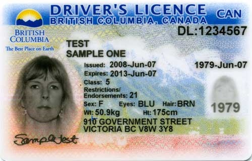 New B C Driver S Licences Include Facial Recognition