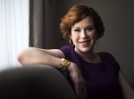 "Actress Molly Ringwald poses for a photograph after talking about her new television series ""Raising Expectations,"" in Toronto on Monday, April 25, 2016. (THE CANADIAN PRESS/Nathan Denette)"