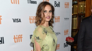 Actress Natalie Portman attends the 'Jackie' premiere on day 4 of the Toronto International Film Festival at [the Winter Garden Theatre in Toronto on Sunday, Sept. 11, 2016. (Photo by Evan Agostini/Invision/AP)