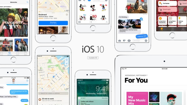 Apple rolls out iOS 10