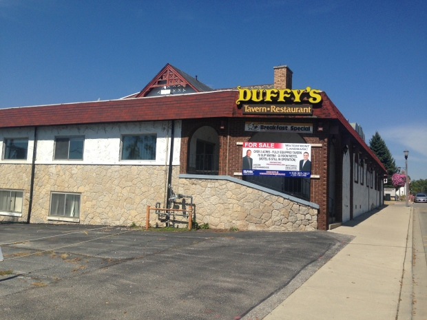 Demolition set to begin on duffy 39 s tavern ctv windsor news for Ontario motor inn ontario ca