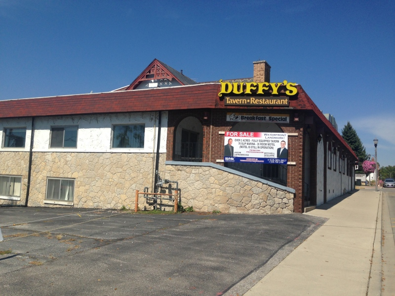 Duffy's Tavern and Motor Inn in Amherstburg, Ont., on Tuesday, Sept. 13, 2016. (Rich Garton / CTV Windsor)