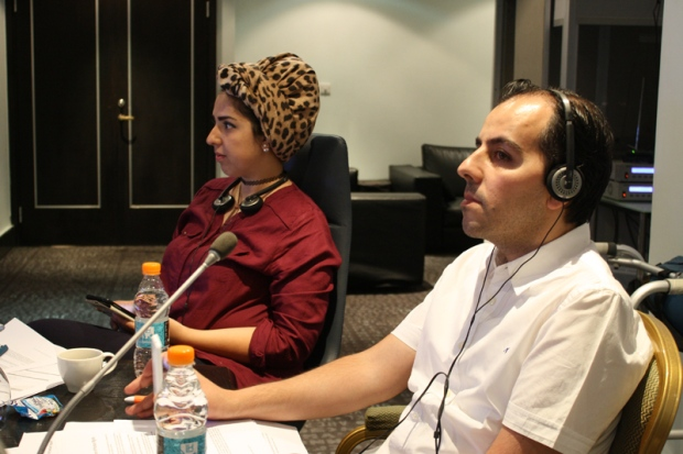 The JHR workshop for journalists in Amman, Jordan