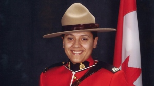 Const.Sarah Beckett is shown in an undated handout photo.Charges have been laid against a 28-year-old man in the death of Const. Beckett, an RCMP officer who was killed when her cruiser was rammed on Vancouver Island. THE CANADIAN PRESS/HO - RCMP *MANDATORY CREDIT*