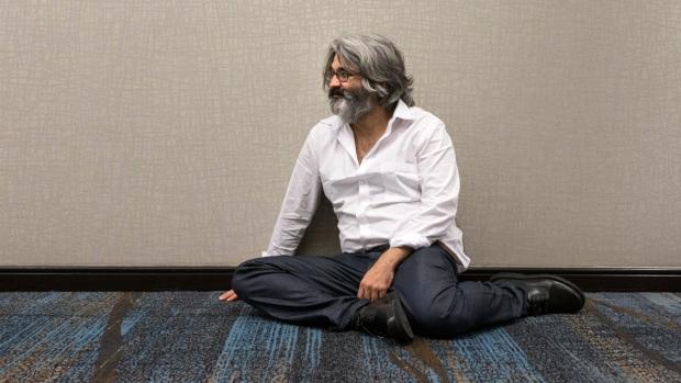 Director Onur Tukel in a Toronto hotel